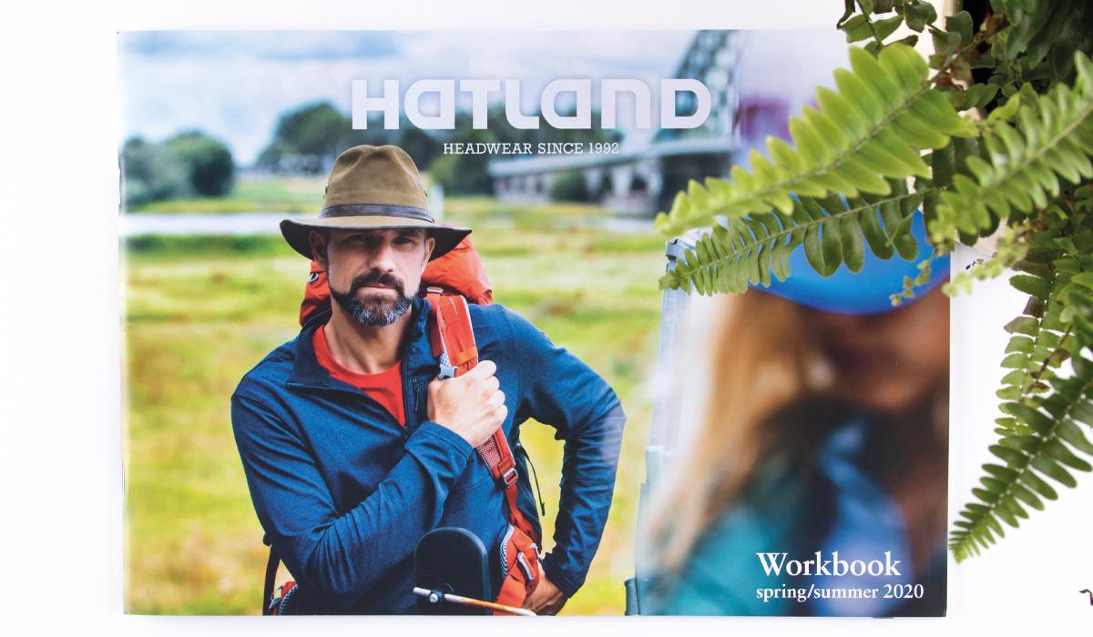 Ontwerp voorkant brochure Hatland