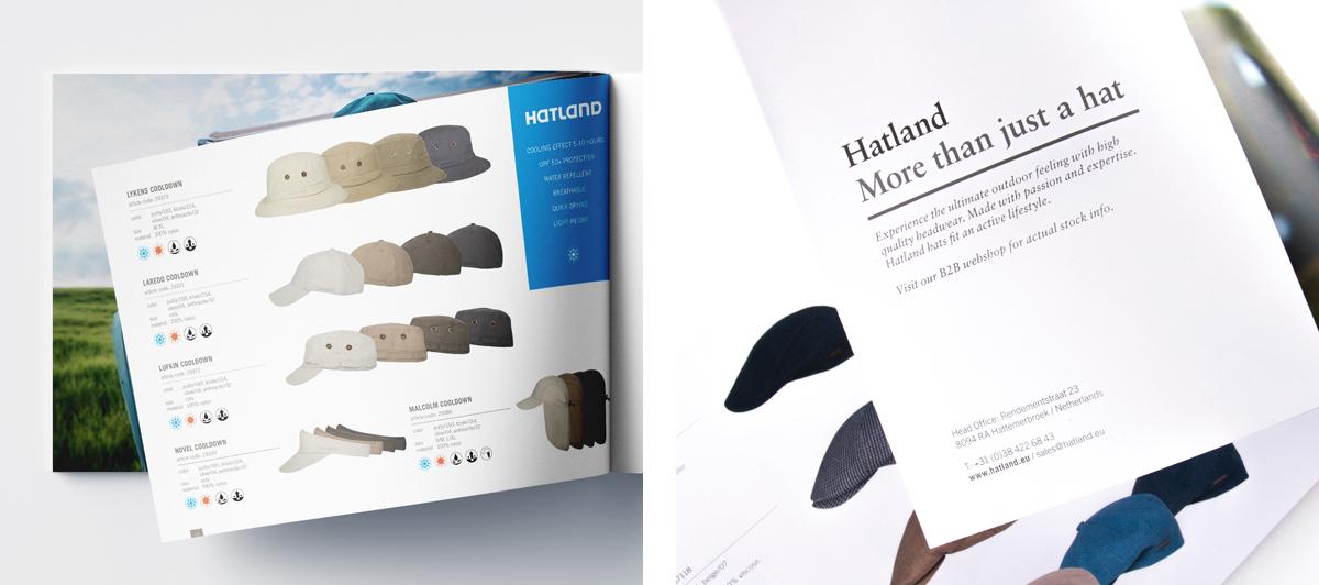 Huisstijl ontwerp brochure Hatland