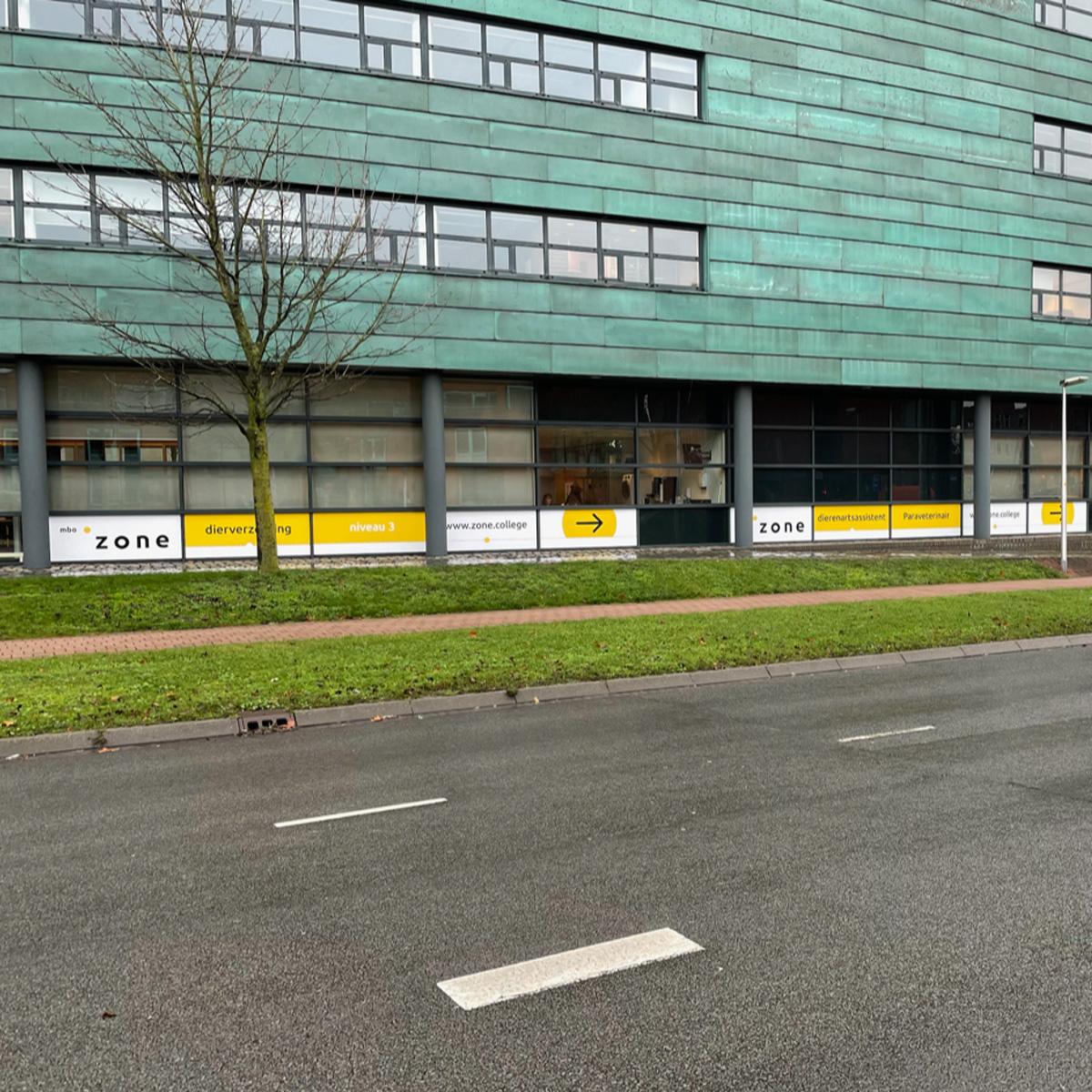 Schoolgebouw zone.college ssp signing mbo opleiding